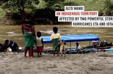 Ayuda en comunidades Indígenas alto Wanki. Historia de Mirna.
