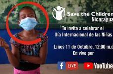Emisión en directo de Save the Children en Nicaragua