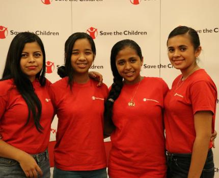 Nicaraguan girls ask for investment and gender equality
